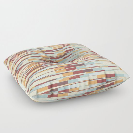 Abstract pattern 67 Floor Pillow