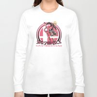 super smash bros Long Sleeve T-shirts featuring Shulk - Super Smash Bros. by Donkey Inferno