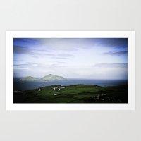 Views of the Ocean - Ireland Art Print