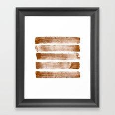 lines_001 Framed Art Print