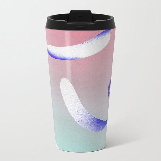 B-A-N-A-N-A-S Metal Travel Mug