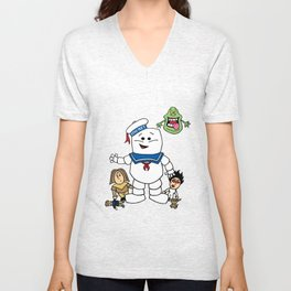 Ghostbusters- Ghost Toddlers Unisex V-Neck