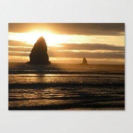 Pacific Northwest Sunset Canvas Print