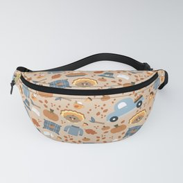 Thanksgiving Twist - (Light Background) Fanny Pack