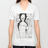 "moby dick V-neck T-shirts featuring ""Moby Dick"" by Pastuv"