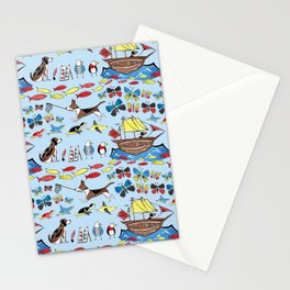 The Voyage of the Beagle Stationery Cards