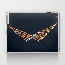 Believe In Me Who Believes In You Laptop & iPad Skin