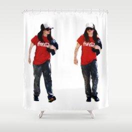 Cola Homie Shower Curtain