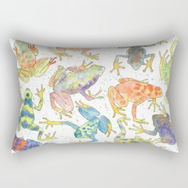 Frogs Rectangular Pillow