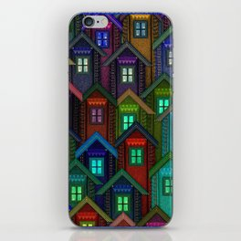 Blue Jeans Housing Compound (2) iPhone Skin