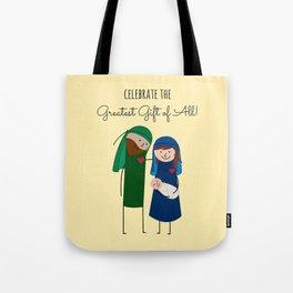 The Christmas Family Tote Bag
