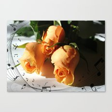 Music In The Air   Canvas Print