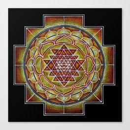Sri-Yantra Canvas Print