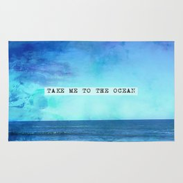 Take me to the ocean Rug