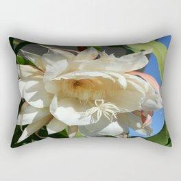 Night blooming cereus full color Rectangular Pillow