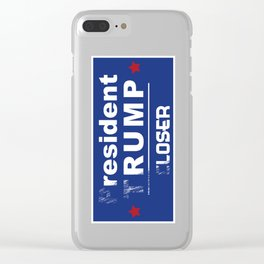 resident rump Clear iPhone Case