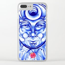 Majin Bluu Clear iPhone Case