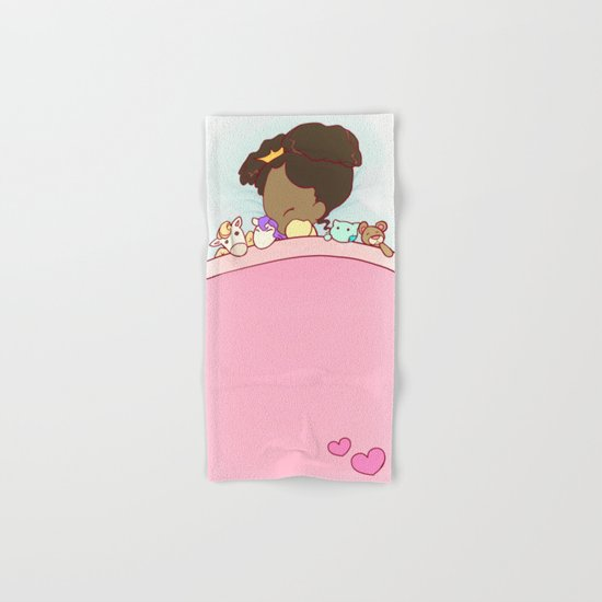 Lil Princess Sweet Dreams Hand & Bath Towel