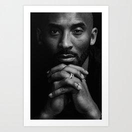 K.B King of  Basketball Art Print01 Art Print