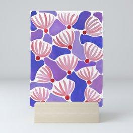 Pink & Red Flowers Mini Art Print