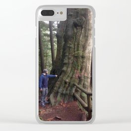 Old(er) Growth Tree Clear iPhone Case