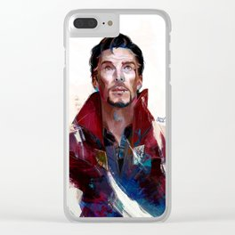 Doctor Strange Clear iPhone Case