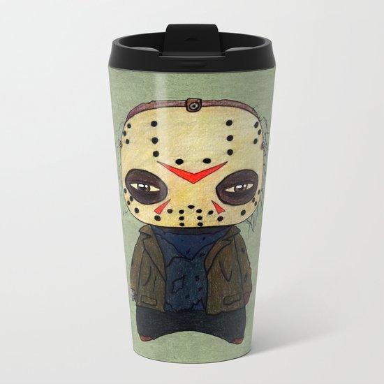A Boy - Jason ( Friday the 13th) Metal Travel Mug
