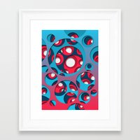 vertigo Framed Art Prints featuring Vertigo by Azarias