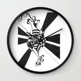 The Fertile Mind by Riendo Wall Clock