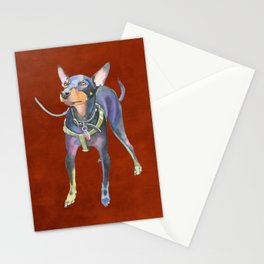 Toy Manchester Terrier Stationery Cards