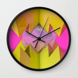 Crystal Crusher Wall Clock