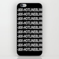 hotline miami iPhone & iPod Skins featuring HOTLINE  by I Love Decor
