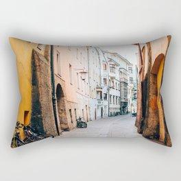 Streets of Innsbruck Rectangular Pillow