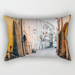Same Old Cycle   Innsbruck, Austria Rectangular Pillow