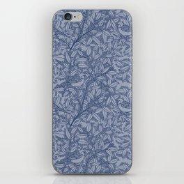 Blue Sparrow iPhone Skin