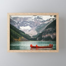 Kayak Canada Framed Mini Art Print