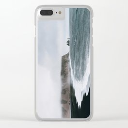 Coast / Iceland Clear iPhone Case