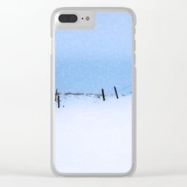 Across the Miles Clear iPhone Case