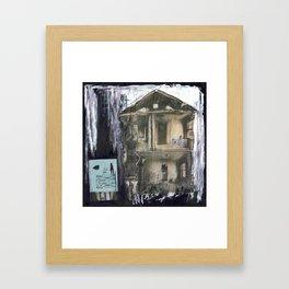 i.o.u. Framed Art Print