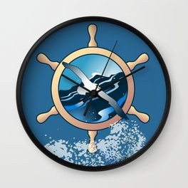 Albatross Wall Clock