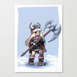 vicky the viking Canvas Print