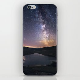 (RR 294) Milky Way above Lough Tay - Ire iPhone Skin