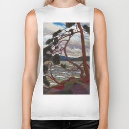 Tom Thomson - The West Wind - Canada, Canadian Oil Painting - Group of Seven Biker Tank