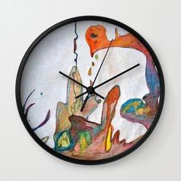 Crying Chicken Wall Clock
