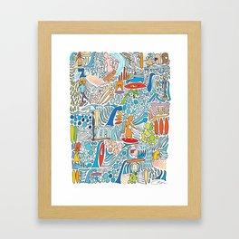 Offshore Wind Framed Art Print