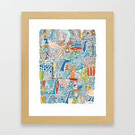 Offshore Wind Framed Art Print