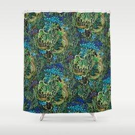 Immersive Pattern Shower Curtain