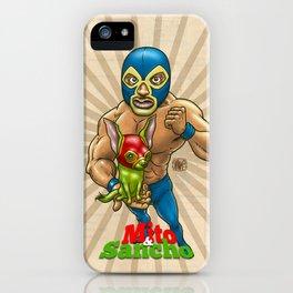 Mito & Sancho, sensacionales de la lucha libre iPhone Case