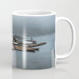 Foggy Morning At The Lake Coffee Mug