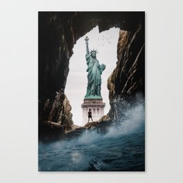 Wave on Freedom by GEN Z Canvas Print
